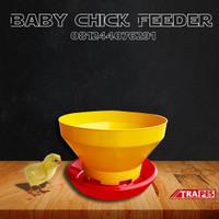 Baby Chick Feeder BCF Tempat Makan Ayam Potong KHUSUS SULAWESI SELATAN