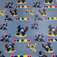 WALLPAPER STIKER DINDING MOTIF STITCH NEW ARRIVAL