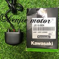 Lampu plat nomor original kawasaki ninja rr , 250 mono z250 fi karbu