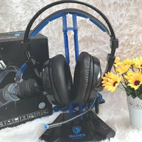 Headset Gaming Sades Luna