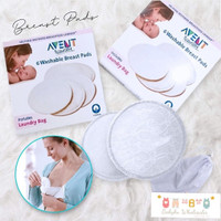 breast pad avent / washable breastpad avent