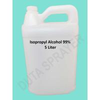 Isopropyl Alcohol IPA 99% 5 liter Isopropil Alkohol cairan desinfektan