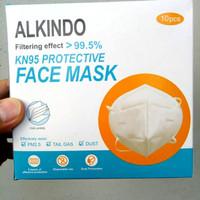 Masker KN95 Alkindo Masker Medis 5ply 1 Box 10 pcs - Masker Kesehatan