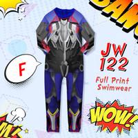 Junior Wardrobe JW 122-F Kids Optimus Transformer Swimwear 5Tahun