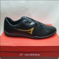 promo sepatu futsal ardiles luksemburg warna hitam ORIGINAL