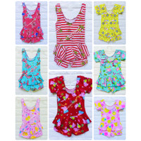 Baju renang anak perempuan bayi one piece muat usia 6 bln 1-2 tahun