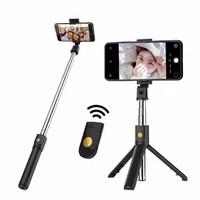 Tongsis Bluetooth + Tripod K07 - Selfie Stick Bluetooth Shutter