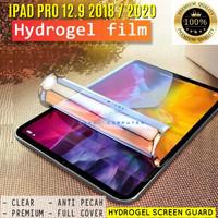 iPad Pro 12.9 12,9 Inch 2018 2020 Hydro Gel Screenguard Antigores Ori - Bening
