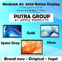 (IBOX) Apple Macbook Air 2020 256GB 512GB 256 512 GB Resmi 1 Tahun