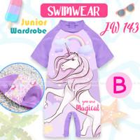 Junior Wardrobe JW 143 -B Teen Unicorn Swimwear 13Tahun