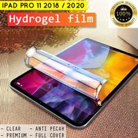 iPad Pro 11 Inci 2018 2020 Hydro Gel Antigores Screen Guard Bening Ori