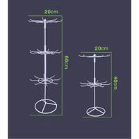 Rak Putar Matahari 3 susun / aksesoris display (KHUSUS GRAB/GOSEND)