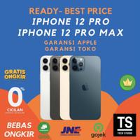 (RESMI) iPhone 12 Pro Max 512GB 256GB 128GB Signal Aktif Greenpeel