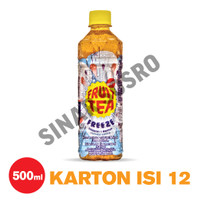 Fruit Tea Sosro Freeze PET 500 ml Isi 12