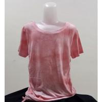 Baju Kaos Atasan Anak Cewek Motif tie dye Merk Justice Murah