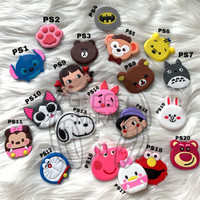 Disney Tsum Popsocket / Phone Holder klip kabel clip cable polos murah - PS1