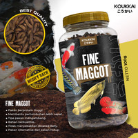 KOUKKAI Fine Maggot Berkualitas tinggi untuk Ikan Predator