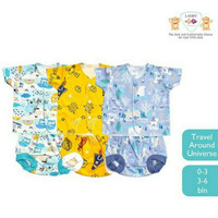 Baju Bayi Setelan Tangan pendek LIBBY (3-6 bulan)