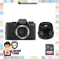 Fujifilm X-T100 BO + XF 35mm F2 Fuji XT100 Garansi Resmi Mirrorless