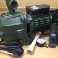 pompa air jetpump SHIMIZU pc 260 bit /pompa sumur dalam