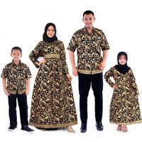 fashion anak perempuan gamis batik anak baju muslim anak motif prada