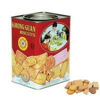 Khong Guan Assorted Biscuit Red Persegi Kaleng Besar 1600 gram