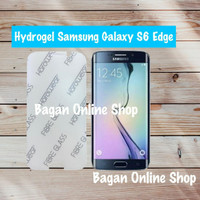 Samsung Galaxy S6 Edge Hydrogel Full Screen Protector Anti Gores