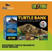 Exoterra Turtle Magnetic Bank Medium / Exo Terra Tempat Jemur Kura
