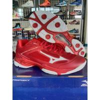 Sepatu Volly Mizuno WLZ5 Low Red Sepatu Running