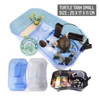 Turtle Tank Small 25 x 17 x 11 cm/ Aquarium Box Ember Tempat Kura Air