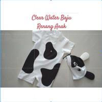 Clear Water Baju Renang Motif Sapi / Baju Renang Anak