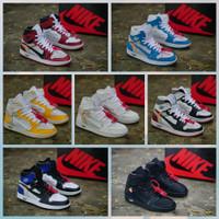 Nike air jordan off white ( sepatu nike / sepatu tinggi )