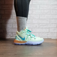 Sepatu Basket Nike Kyrie 5 Spongebob Squidward Green Blue