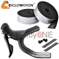 CICLOVATION Advanced Bar Tape - Shinning Metallic SATIN SILVER