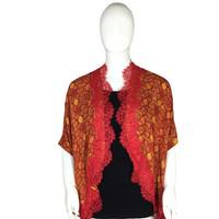 Outer Batik Bukaan Balero Merah Erna Batik