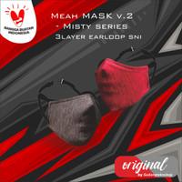 MEAH - GTactive Masker Buff Masker 3 Lapis - Cotton Misty Earloop