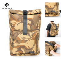 Tas Ransel Laptop Backpack Waterproof Franzen Troops Rulle Series 602