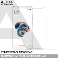 Tempered Glass Xiaomi Redmi Note 5 Pro | Anti Gores Kaca - Bening