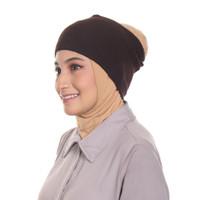 Umama Scarf - Aksesoris Hijab Terbaru Bandana Ciput Rajut Polos