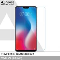Asman Premium Tempered Glass Anti Gores for Vivo V9 - Clear