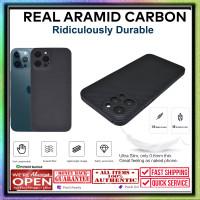 Case iPhone 12 Pro Max 12 Pro Mini REAL ARAMID CARBON Ultra Thin