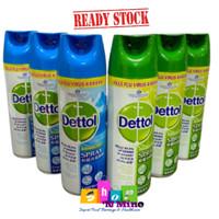 DETTOL DISINFECTANT SPRAY 450 ML -Disinfektan anti virus import malay