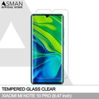 Tempered Glass Xiaomi Mi Note 10 Pro (6.47) | Anti Gores Kaca Bening
