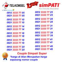 Nomor Cantik Simpati Pasangan Telkomsel Couple 4G