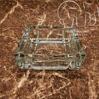 Asbak Kaca BBC AT4053 . Glass Ashtray Beling