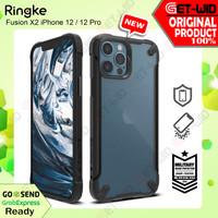 Ringke Fusion X2 Case iPhone 12 Pro / 12 Original Casing Anti Crack - Black