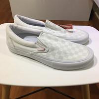 VANS SLIP ON PRO WHITE CHECKERBOARD/REFLECTIVE ORIGINAL