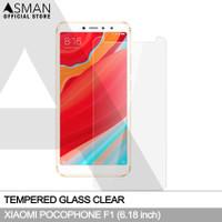 Tempered Glass Xiaomi Pocophone F1 (6.18) | Anti Gores Kaca - Bening