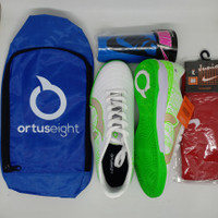 Paket Komplit Sepatu Futsal Ortuseight Terbaru
