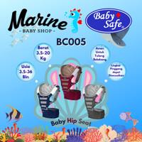 Baby Safe Hip Seat Baby Carrier Gendongan bayi grey